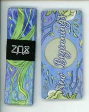 Medium ZOX Silver Strap NEW BEGINNINGS Wristband with Card Reversible