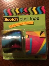 New Scotch Duct Tape Triangle Paradise & Ne ron Ron 1.42 Inch by 5 Yard