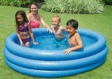 """NEW Intex Crystal Blue Outdoor Kids Water Inflatable 66"""" Swimming Pool SHIP FAST"""