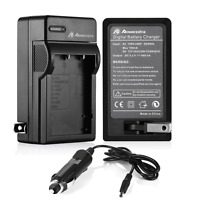 NP-95 Battery Charger for Fujifilm FUJI Camera FinePix F30 F31fd Real X100 3DW1