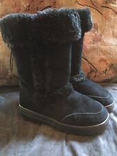 Style & Co Women's Witty Black Cold Weather Faux Fur Boots - Size 6M