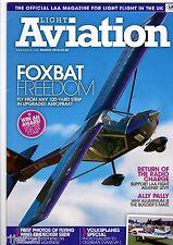 Light Aviation 2010 March Aeroprakt Foxbat,Volksplanes,Eindecker