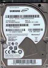 Samsung ST2000LM003 HN-M201RAD/M 2TB F/W: 2BC10001 DGT Seagate