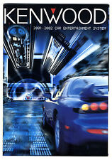 KENWOOD - CAR INTERTAINMENT SYSTEM 2001-2002   ESPAÑOL   ORIGINAL CATALOG