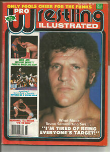 """Pro Wrestling Illustrated"" July 1980 Bruno Sammartino"