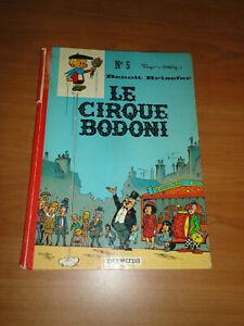 BENOIT BRISEFER N°5 : LE CIRQUE BODONI == EO, 1971 = DOS ROND ROUGE