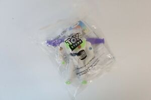 """1996 Vintage TOY-STORY Buzz Lightyear Disney Burger King 5"""" Toys New in Package"""