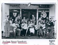 1998 Asylum Street Spankers Band of Austin Texas Old Grocery Store Press Photo