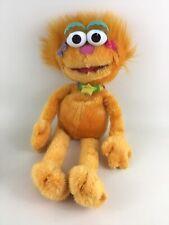 """Sesame Street Muppet Lg 21"""" Zoe Plush Stuffed Animal Toy Orange Girl Monster"""