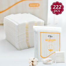 222 PCS Cotton Pad Nail Facial Makeup Cleansing Pads Cosmetic Puff Cleaner Tool