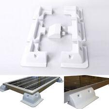 7Pcs Solar Panel Mount Bracket Kit w/ Cable for Roof Caravan Vehicle Motorhome