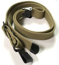 WWII US M1 GARAND RIFLE CANVAS CARRY SLING-OD#3
