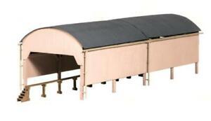 Ratio 527 OO Gauge Carriage Shed Kit