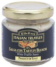 TRÜFFEL Salsa weiße ALBA Trüffel Soße orig. italienische Delikatesse 180g Glas