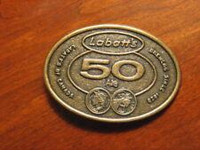 Brass Belt Buckle - Labatt's 50 Ale - Ex. Condition