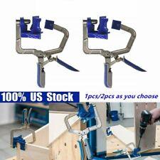 2 Pack Woodworking Corner Clamp for Kreg Jigs & 90° Corner Joints Tjoints Gadget