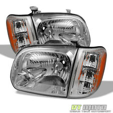 For 2005-2006 Toyota Tundra 05 06 07 Sequoia Headlights Headlamps Lamps Corner