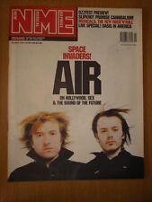 NME 2001 MAY 26 AIR SPACE INVADERS SLIPKNOT OASIS BLUR