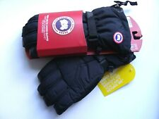 GENUINE !! CANADA GOOSE ARCTIC DOWN Black GLOVES *ALL SIZES*  5159M Mens PROOF!