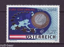 Österreich Nr. 2368  **  Einführung der Euro Münzen und Banknoten 2002