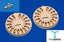 TEETH REPLACEMENT FOR TYPODONT AG-3 (FULL SET) COMPATIBLE WITH FRASACO BRAND