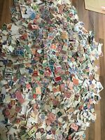 1000 WORLD STAMPS, OFF PAPER, vintage commonwealth heavy, QV onward