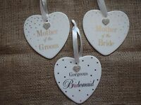 Gorgeous Bridesmaid boxed heart gift Mother of the groom Mother of the Bride