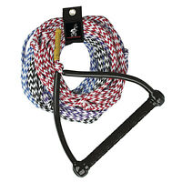AIRHEAD 4-Section Water Ski Rope 75-ft feet with Performance Tractor Grip Handle