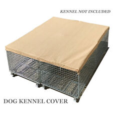 Alion Home© Dog & Pet Kennel Shade Cover 95% UV Block 200GSM Banha Beige