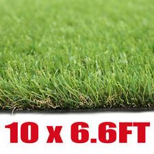 10x6.6FT Artificial Grass Mat Synthetic Landscape Fake Lawn Pet Dog Turf Garden