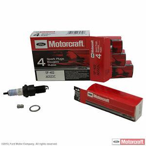 *4 PACK* MOTORCRAFT Ford OEM Copper Spark Plug Set SP-402 AGS22C