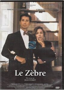 DVD LE ZEBRE thierry lhermitte caroline sellier jean poiret