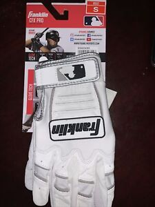 Franklin Adults' CFX Pro   Batting Gloves Small Size.
