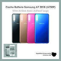 Vitre Arrière/Cache Capot Batterie pour SAMSUNG GALAXY A7 2018 A750F + Adhesif