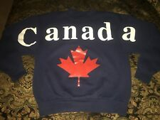 Vintage Fruit Of The Loom Sweater Men's Medium Canada Spell Out Made In Canada