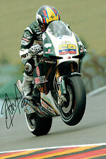 Yonny HERNANDEZ SIGNED Paul Bird Motorsports 12x8 Autograph Photo AFTAL COA