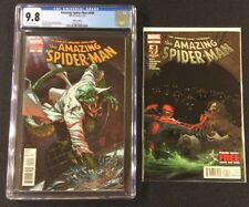 AMAZING SPIDER-MAN #690 Comic CGC 9.8 SHANE DAVIS 1:25 VARIANT Mint 2012 LIZARD