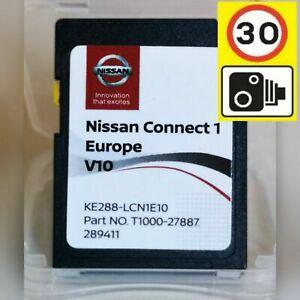 Nissan Connect 1 V10 Europa Sd Karte Card MICRA QASHQAI NOTE JUKE CUBE + BLIZTER