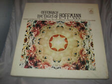 OFFENBACH: THE TALES OF HOFFMANN - GEDDA, D'ANGELO, BLANC & MORE 3 LP BOXSET