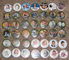 UNIQUE BILL CLINTON SET OF 42 BUTTONS ALL #1 FROM LIMITED ARKANSAS EDITION