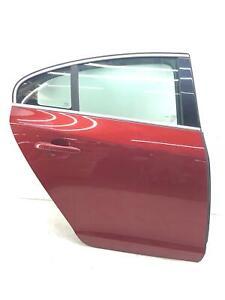2013-2018 VOLVO S60 RIGHT REAR DOOR SHELL FLAMENCO RED METALLIC (702) OEM 2014
