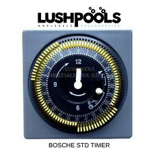 BOSCHE Standard Timer / Chlorinator Time Clock (Grasslin) Suits Crystal Clear