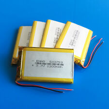 5 pcs 3.7V 1300mAh 503759 LiPo Battery Cells for DVD GPS Camera Phone TV Box PSP