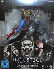 Injustice - Götter Unter Uns, Limited Collectors Edition mit Figur PS3,NEU & OVP