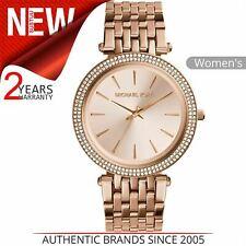Michael Kors Darci Ladies Watch MK3192¦Rose Gold Dial Pave Bezel¦Bracelet strap