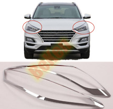 2019-2020 For Hyundai Tucson New ABS chrome Headlight Front Light cover trim