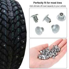 100Pcs Tire Studs Car Snow Tire Chain Ice Nail Anti Skid for All Vehicle E7X8