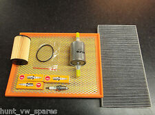 VAUXHALL VECTRA C / MK2 1.8 SERVICE KIT OIL AIR FUEL FILTERS SPARK PLUGS -Z18XER