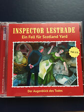 Inspector Lestrade - Der Augenblick des Todes  CD neuwertig (Sherlock Holmes)