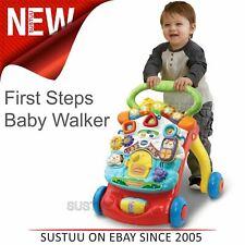 VTech First Steps Baby Walker¦Motion Sensor¦Music & Lights¦Easy Grip Handle¦6m+